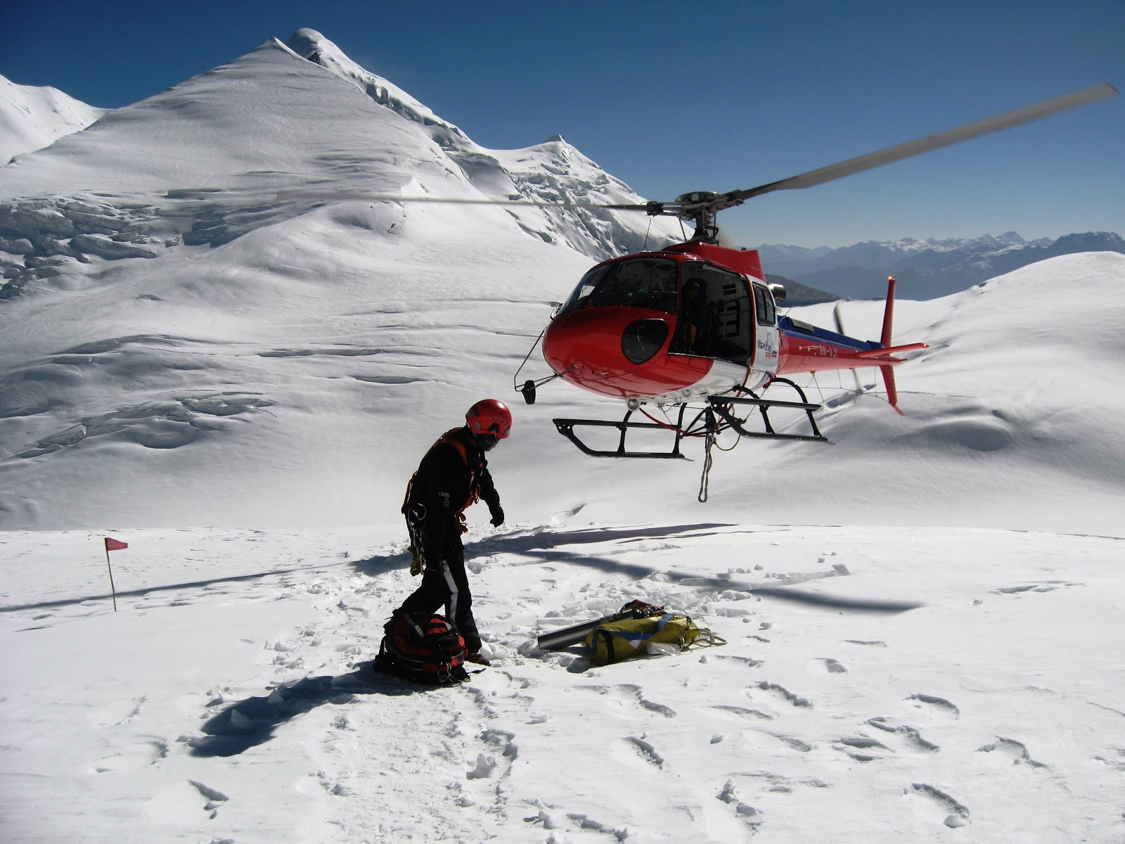 Kailash Mansarovar by Helicopter
