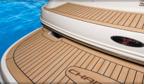 Synthetic teak decking