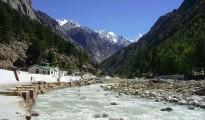Chardham Yatra - Bhagirathi River at Gangotri