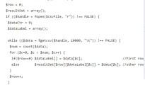 PHP CSV Array
